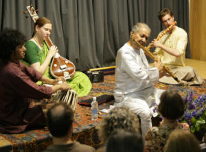 chaurasia concert at the Rietberg Museum 2008